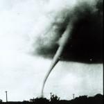 Tornado, 1949 in US-Bundesstaat Kansas - Bildquelle: Public Domain